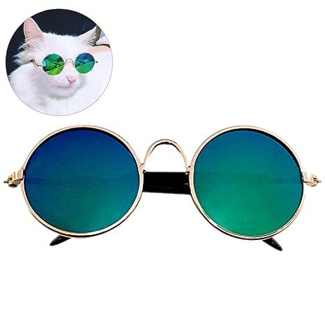 Gafas De Sol Para Gatos, Legendog Ojo De Gato Desgaste Gafas Mentales Cool Para Accesorios