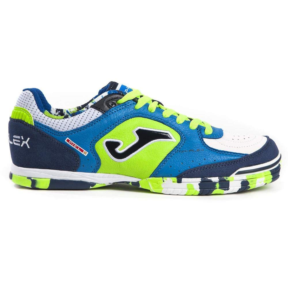 248a80068 Amazon.com  Joma scarpe Joma TOP Flex Indoor Soccer Shoes TOPW 805  Royal-Fluo  Sports   Outdoors