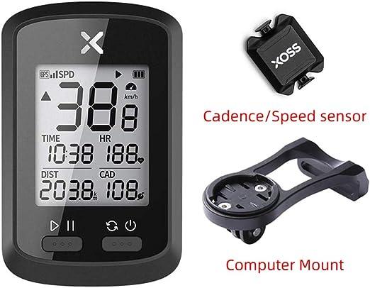 EDW Mini Bicicleta con Ordenador inalámbrico GPS, Contador de ...
