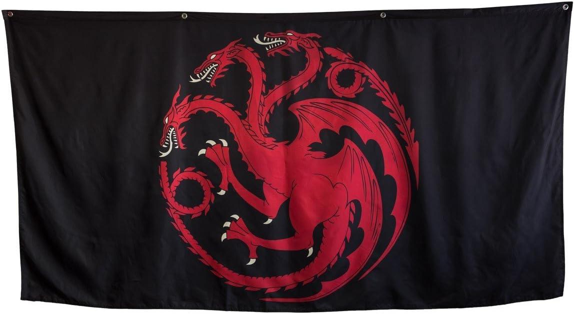 "Calhoun Game of Thrones House Sigil Giant Banner (62"" by 118"") (Targaryen)"