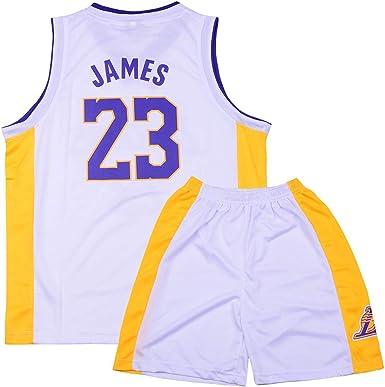 Lebron James #23 Camiseta de Baloncesto para Hombres - NBA Lakers ...
