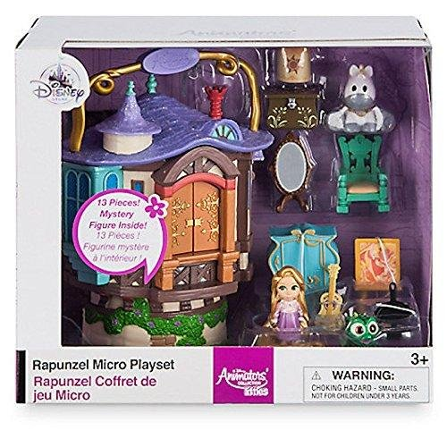 Rapunzel Micro Playset, Disney Animateurs ' Collection Littles