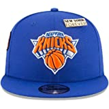 f70126785 New Era New York Knicks 2018 NBA Draft Cap 9FIFTY Snapback Adjustable Hat-  Blue