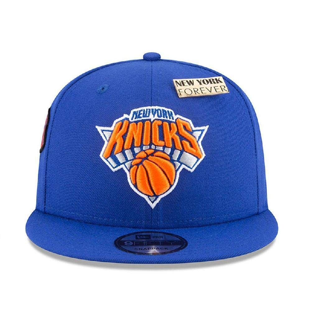 Amazon.com   New Era New York Knicks 2018 NBA Draft Cap 9FIFTY Snapback  Adjustable Hat- Blue   Sports   Outdoors 89f9d3fee