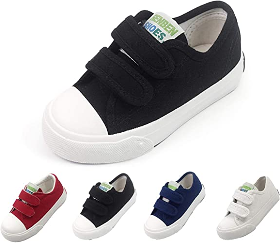 New Baby Toddler Boys strap Tennis Shoes Running Sneakers Loafers Athletic Sport