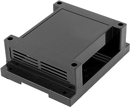 Aexit 115mmx90mmx40mm Conector de caja de proyecto de empalme de terminal eléctrico (model: E5531IIVI-6679FJ) de plástico negro: Amazon.es: Bricolaje y herramientas