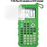 Silicone Case for Ti 84 Plus CE Calculator (Green) - Cover for Texas Instruments Ti-84 Graphing Calculator - Silicon…