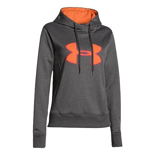 Amazon.com  Under Armour Women s UA Big Logo Applique Hoody  Sports ... eba03d921