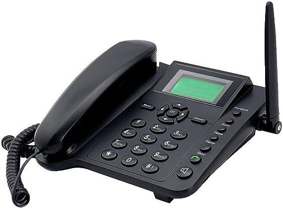 Amazon.com: Sourcingbay – Wireless GSM Desktop teléfono con ...