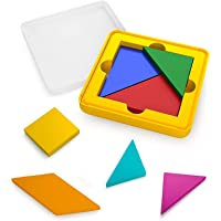 Osmo - Genius Tangram Game - Ages 6-10 - Puzzle & Shape Visual Problem Solving - for iPad and Fire Tablet (Osmo Base…