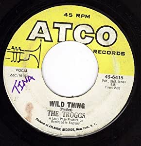 Wild Thing/With A Girl Like You (VG 45 rpm)