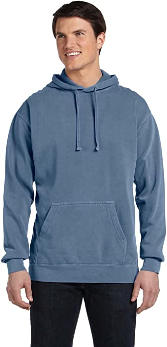 Blue Jean Pgmdye 1567 Chouinard Adult Hooded Sweatshirt XXX-Large
