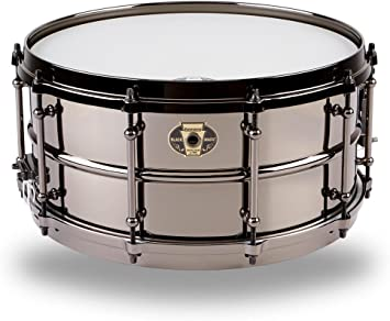 LUDWIG negro MAGIC - 14 x 6,5 - LW6514 caja Metal tambor: Amazon.es: Instrumentos musicales