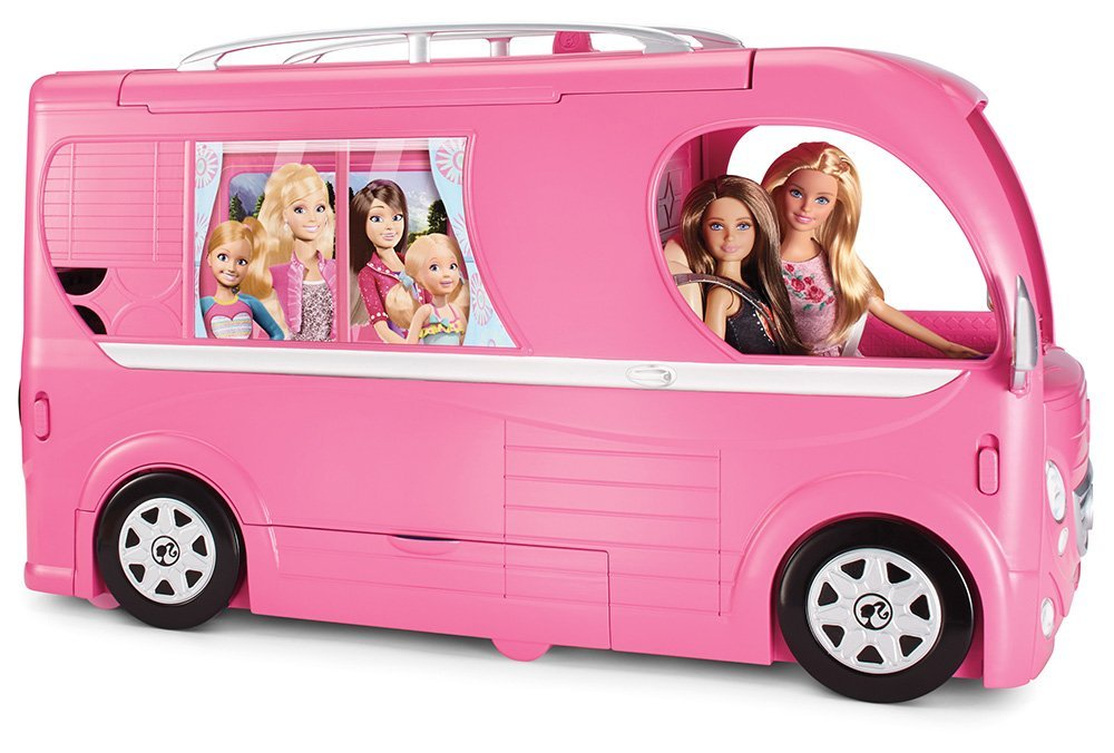 Barbie Pop-Up Camper Vehicle 24