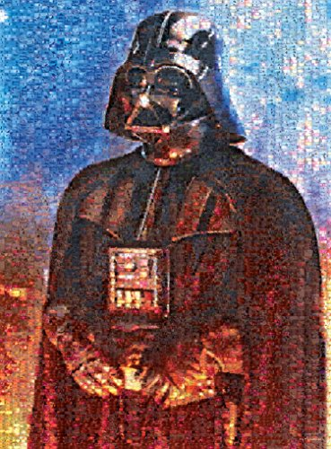 Buffalo Games Star Wars Photomosaic: Darth Vader, Sith Lord Jigsaw Bigjigs Puzzle (1000 Piece)