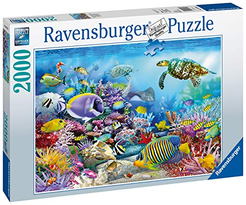 Ravensburger Coral Reef Majesty 2000 Piece Jigsaw Puzzle, Multicolor
