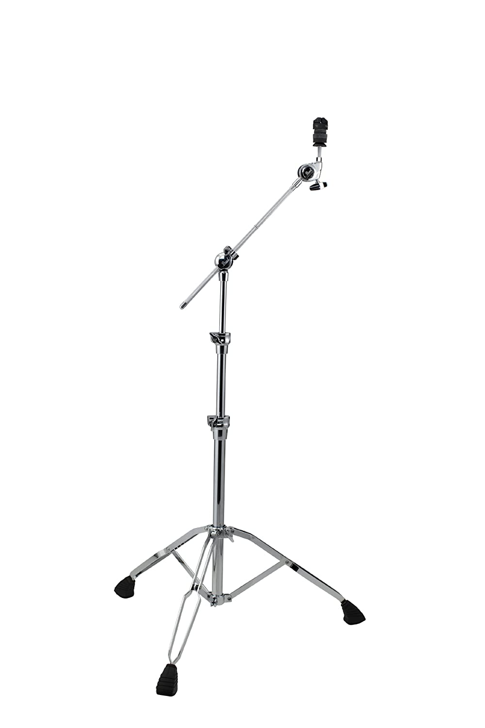 Pearl BC1030 Boom/Cymbal Stand, New Gyro Lock, New Collars and New Trident Tripod Pearl Corporation
