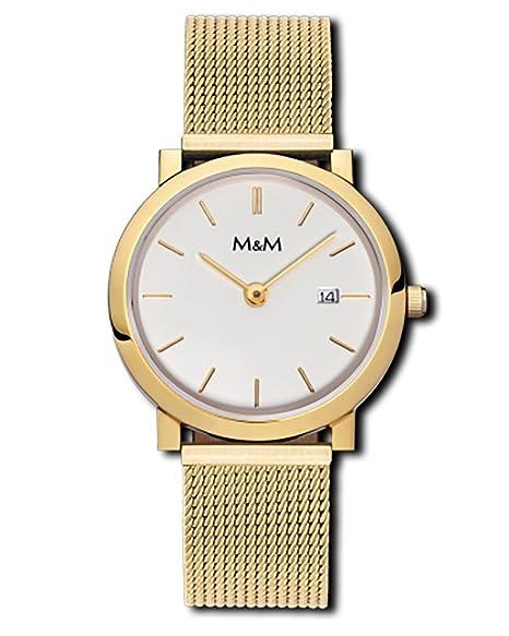 M & M Reloj mujer acero inoxidable m11908 – 232 Flat Line 179