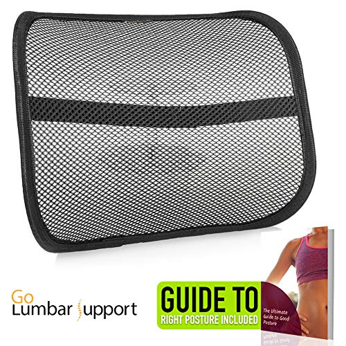 Car Seat Home Office Desk Chair Lumbar Lower Back Support