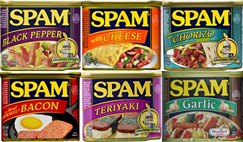 unique-flavor-spam-sampler-12oz-cans-variety-pack-of-6-different-flavors