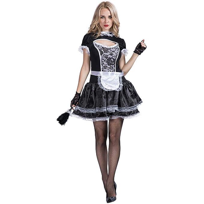 Amazon.com: FantastCostumes - Delantal para mujer, diseño de ...