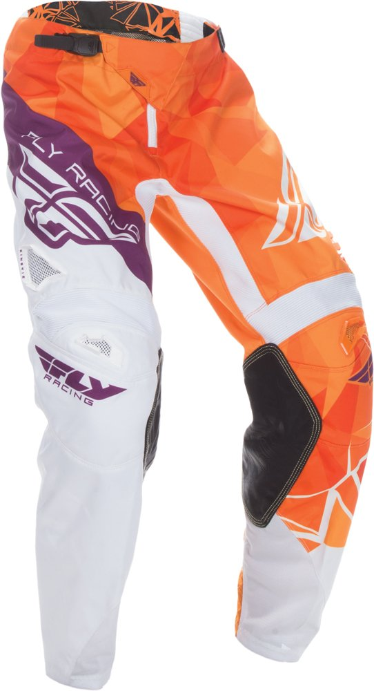 Fly Racing Unisex-Adult Kinetic Crux Pants (Orange/Purple, Size 34)