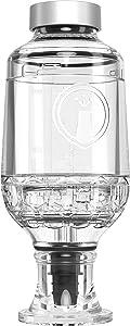 Prepara Tastemaker Craft Mixologist liquor/wine infuser, 9 fl. oz, clear
