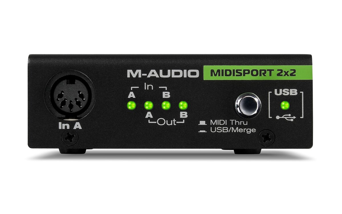 M-Audio Midiman Midisport 2X2 USB MIDI Interface