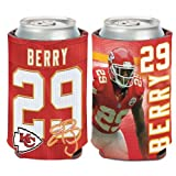 NFL Kansas City Chiefs Can Cooler 12 oz. Eric Berry Limited Can Koozie
