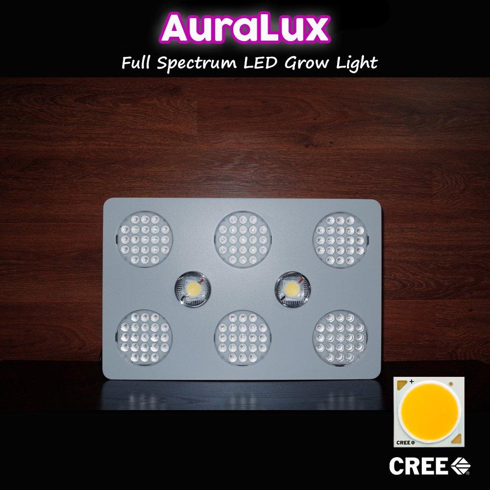 Amazon.com : AuraLux 400w LED Grow Light Spectrum Cree/Bridgelux ...