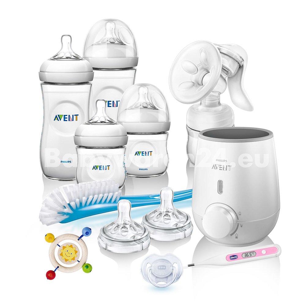 Philips AVENT Vorteilspack III Naturnah Neugeborenen-Set Anti-Kolik Starter-Set