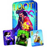 Gamewright 231T Loot Game in a Deluxe Tin, multi-colored