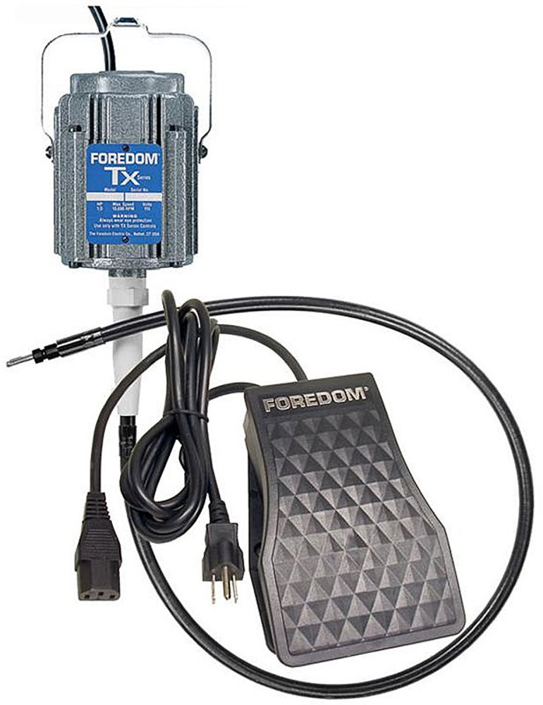 Foredom M.TX-TXR 1/3 hp TX motor and TXR speed control