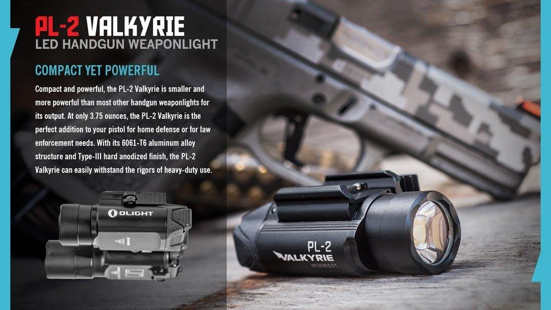 EdisonBright Olight PL-2 (PL2) 1200 lumen LED weapon/pistol light with battery carry case bundle by EdisonBright (Image #7)