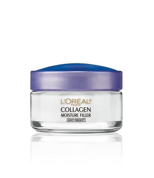 L'Or�al Paris Skincare Collagen Face Moisturizer, Day and Night Cream Collagen Moisture Filler, 1.7 oz.