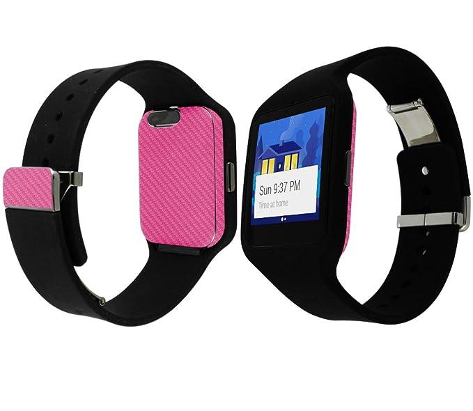 Skinomi TechSkin - Sony Smartwatch 3 Protector de pantalla + ...