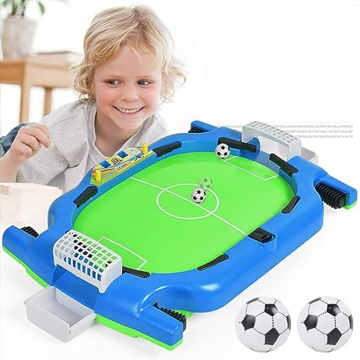 BXWQPP Futbolín Juego de Mesa Baby Foot Infantil para Niños Fútbolista Deporte Patada de Mesa Mesa de Fútbol Futbolín de Sobremesa Juegos Padres Hijos: Amazon.es: Hogar