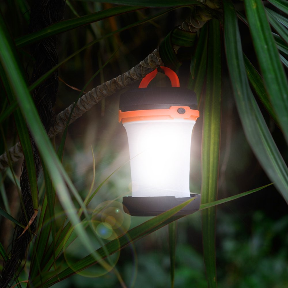 Emergency Lights, TaoTronics Portable Led Lanterns, Camping Lantern Collapsible, Battery Powered Camp Lights for Fishing, Hiking and Outdoor Adventures, Camping Gear