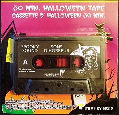 Halloween Horrors 30 min cassette tape -