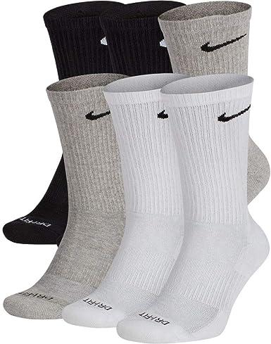 Amazon.com: Men's Nike Everyday Plus Cushion Crew Socks ...