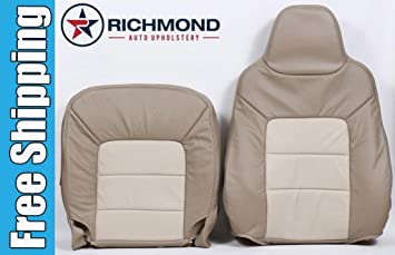 2005 Ford Expedition Eddie Bauer Driver Side Complete Replacement Leather Seat Cover 2