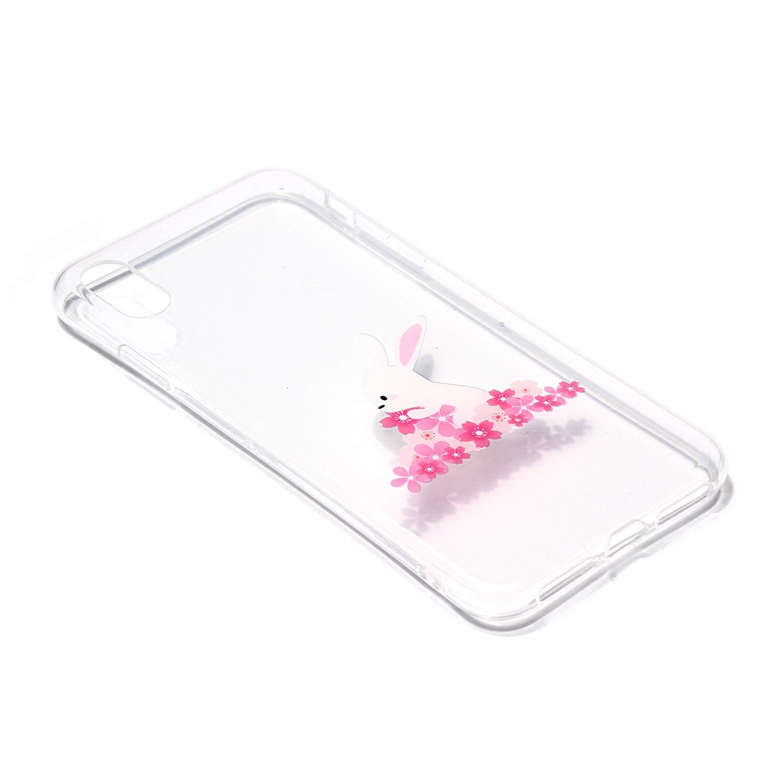 Liebe Everainy Kompatibel f/ür iPhone XR H/ülle Silikon Durchsichtig Gummi mit Muster Neu Cover H/üllen f/ür iPhone XR Handyh/ülle Sto/ßfest TPU Gel Sto/ßstange Transparent Schutzh/ülle