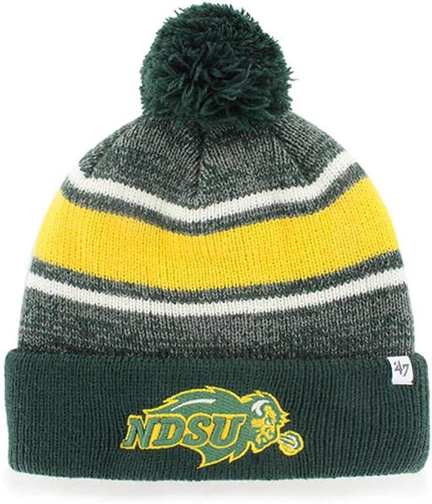 47 NCAA Adult Mens Fairfax Cuff Knit Hat with Pom