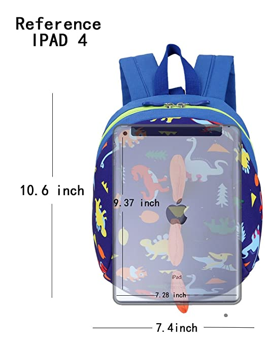 Amazon.com : Toddler Backpack Harness with Leash Kindergarten Personalized Bookbags Unisex : Baby