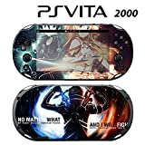 Skin Decal Cover Sticker for Sony PlayStation PS Vita Slim (PCH-2000) - SAO Sword Art Online