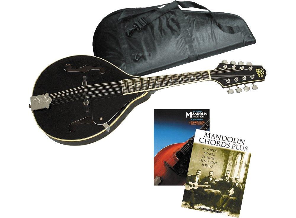Rogue Learn-the-Mandolin Package Black SO-069-RM-101A_CG-400-M