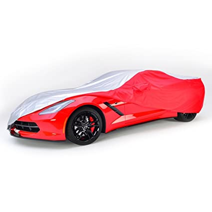 West Coast Corvette >> Amazon Com West Coast Corvette Intro Guard Car Cover Embossed