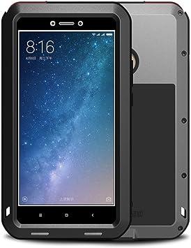 Xiaomi Mi Max 2 Funda, Love Mei Metal [Aluminio] y Silicona ...