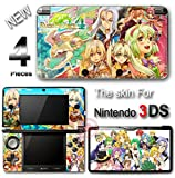 Rune Factory Amazing New SKIN VINYL DECAL STICKER COVER for Nintendo 3DS