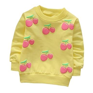 16bc301d976a5 Sensail Sweat-Shirts bébé Fille